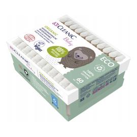 Patyczki dla niemowląt i dzieci Organic biodegradowalne 1op. 60 szt.