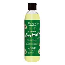 Naturalna regenerujący szampon do włosów awokado