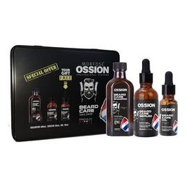 Zestaw szampon do brody 100ml + serum do brody 50ml + olejek do brody 20ml metalowe pudełko