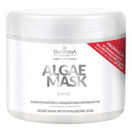 maska algowa z kwasem hialuronowym