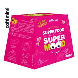 Zestaw upominkowy Super Food Super Mood żel pod prysznic + krem do rąk + kula do kąpieli