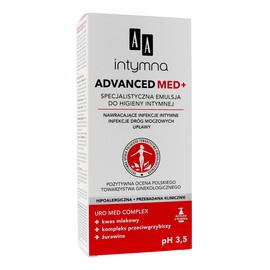 Specjalistyczna Emulsja do higieny intymnej pH 3,5