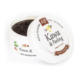 Mydło Naturalne Potasowe Kawa & Peeling