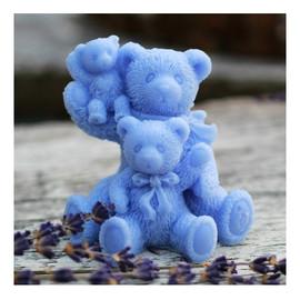 Niebieska Rodzinka Trzy Misie naturalne mydło glicerynowe Owocowe