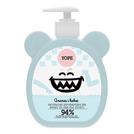 naturalne antybakteryjne mydło do rąk dla dzieci