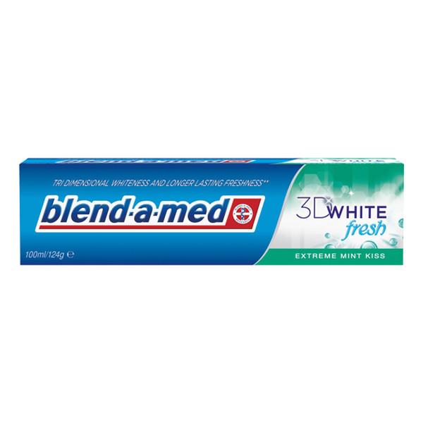 Blend-a-med 3D White Fresh Extreme Mint Kiss Pasta Do Zębów 100ml