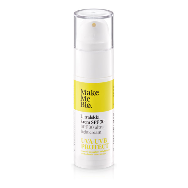 Make Me Bio Ultralekki krem do twarzy SPF 30 30ml