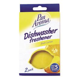 Odświeżacz do zmywarki 2-pack cytrynowy Lemon Shape