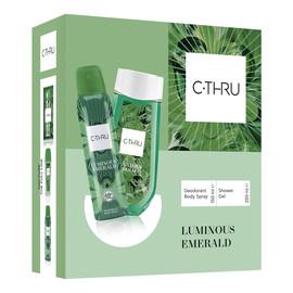 Zestaw prezentowy Luminous Emerald Dezodorant spray 150 ml + żel pod prysznic