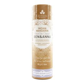 Naturalny dezodorant na bazie sody INDIAN MANDARINE (w sztyfcie, kartonowy)