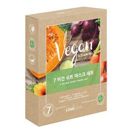 Mask Set zestaw vegańskich maseczek w płachcie
