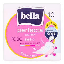 Podpaski higieniczne Ultra Rose 10 sztuk