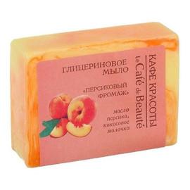 Mydło glicerynowe ręcznie robione – Brzoskwiniowy deser