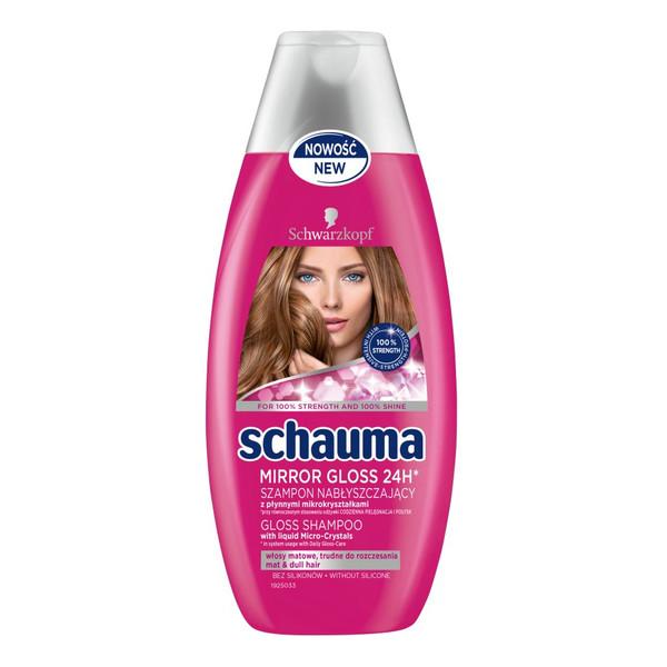 Schauma Mirror Gloss 24H szampon do włosów nabłyszczający 400ml