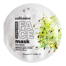 Maska do twarzy Len i mleko migdałowe