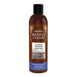 Platinium szampon ziołowy do włosów w odcieniach blond i siwych
