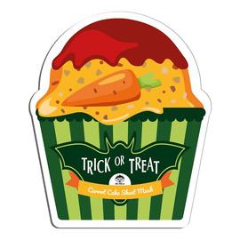 Trick Or Treat Carrot Cake Sheet Mask rozjaśniająca maseczka w płachcie z ekstraktem z marchwi