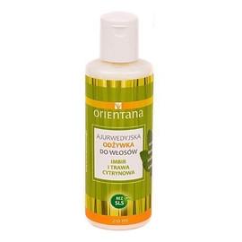 Ajurwedyjska odżywka do włosów - Imbir i trawa cytrynowa