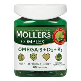 Complex omega-3 + d3 + k2 suplement diety 60 kapsułek