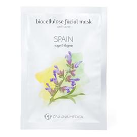 Spain znti-Acne Biocellulose Facial Mask przeciwtrądzikowa maseczka z biocelulozy Sage & Thyme