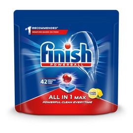 Max tabletki do mycia naczyń w zmywarkach Lemon 42szt