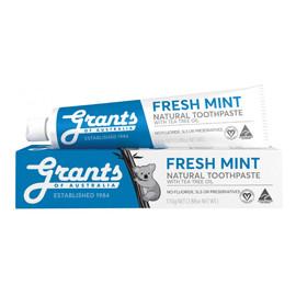 Odświeżająca naturalna pasta do zębów bez fluoru, o smaku mięty