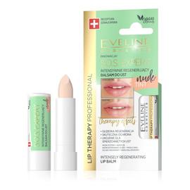 S.O.S. Expert Intensywnie regenerujący balsam do ust Tint Nude