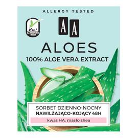 100% Aloe Vera Extract Hydro sorbet dzienno-nocny 48h nawilżająco-kojący