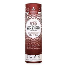 naturalny dezodorant na bazie sody sztyft kartonowy Nordic Timber