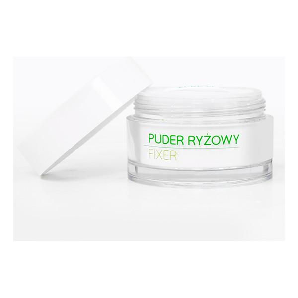 Ecocera Fixer Puder Ryżowy Utrwalający Makijaż 15g