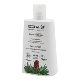 Organic Aloe Vera Tonik do twarzy oczyszczająco nawilżający