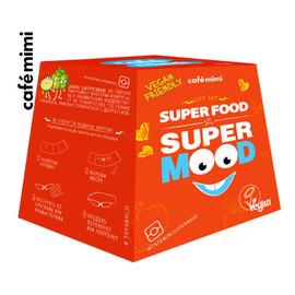 Zestaw upominkowy Super Food Super Mood krem do rąk + żel pod prysznic