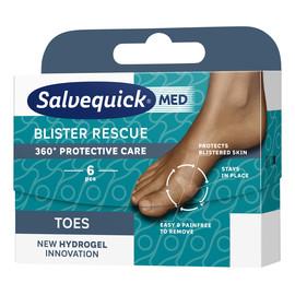 Blister Rescue Toes hydrożelowe plastry na pęcherze na palcach 6szt.