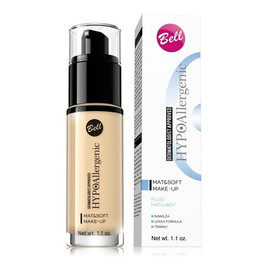 Mat&Soft Make-up Hypoalergiczny fluid matujący