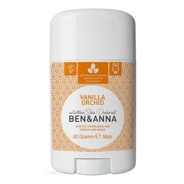 naturalny dezodorant na bazie sody sztyft plastikowy Vanilla Orchid