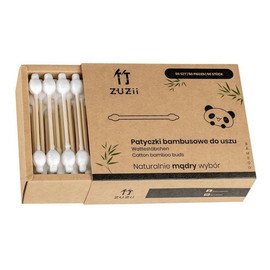 Bambusowe patyczki kosmetyczne dla dzieci i niemowląt 50 szt
