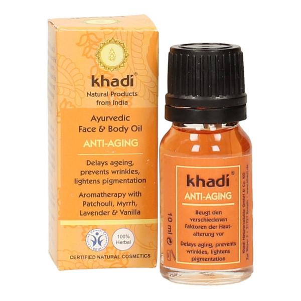 Khadi Ajurwedyjski Olejek Do Twarzy i Ciała Przeciwzmarszczkowy 10ml