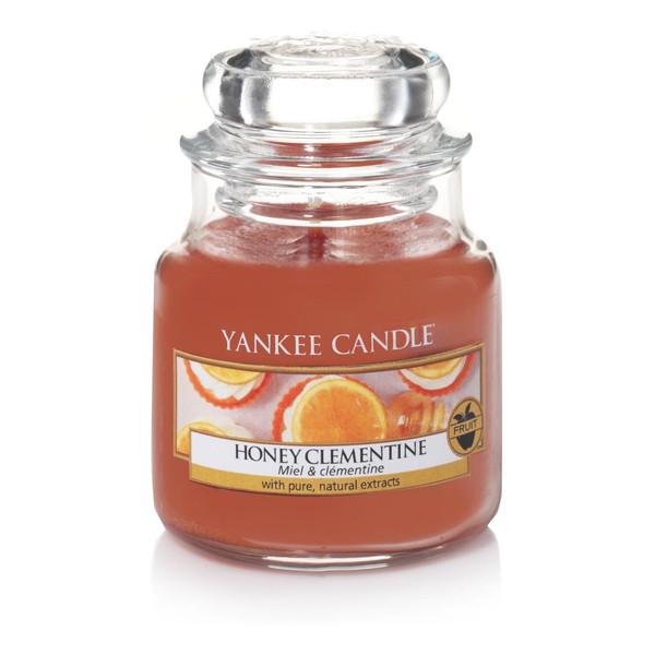 Yankee Candle Small Jar mała świeczka zapachowa Honey Clementine 104g
