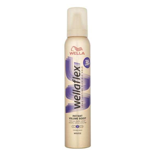 Wella Wellaflex Instant Volume Boost Mocno utrwalająca pianka do włosów 200ml