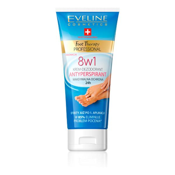 Eveline Foot Therapy Specjalistyczny Krem Dezodorant Antyperspirant 100ml