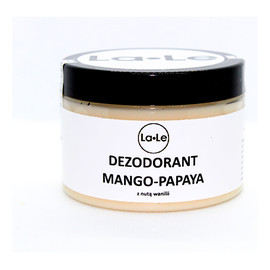 Naturalny dezodorant w kremie Mango Papaya z nutką Wanilii