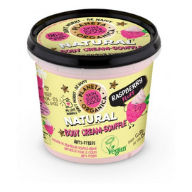 Naturalny krem-suflet do ciała Raspberry Fluff