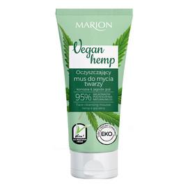 Vegan Hemp Oczyszczający Mus do mycia twarzy Konopia & Jagoda Goji