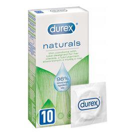 Naturals cienkie prezerwatywy z lubrykantem stworzone z myślą o niej 10szt