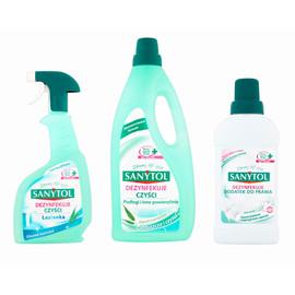 Zestaw do sprzątania i dezynfekcji 1l + 2 x 500ml