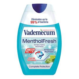 2in1 toothpaste&mouthwash mentol fresh pasta do zębów i płyn do płukania jamy ustnej
