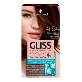 Krem koloryzujący do włosów 4-54 ciemny miedziany mahoń
