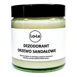 Dezodorant w Kremie z Drzewem Sandałowym szkło