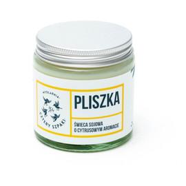 Pliszka - Naturalna Świeca Sojowa Cytrynowa