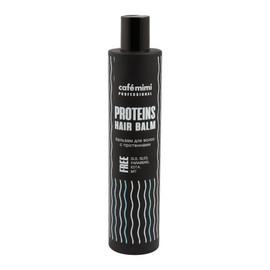 Balsam do włosów z proteinami włosy cienkie i łamliwe